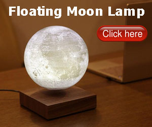 Floately Luna Floating Moon Lamp