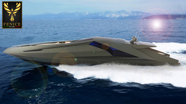 Lambo yacht by mauro lecchi design was inspired by for Yacht design milano